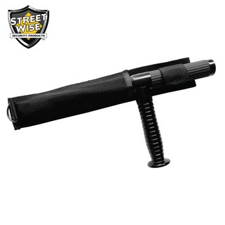 Tonfa Teleskopschlagstock mit Quergriff (53,34 cm) - Police Force®