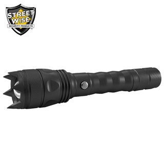 Streetwise Cree LED Flashlight with Self Defense Spikes
