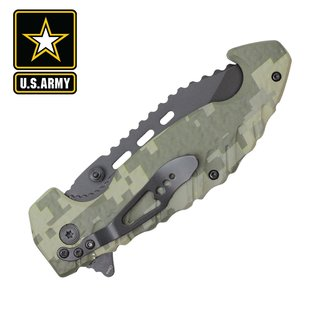 Spring Assisted Licensed Army Knife