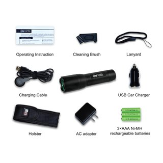 GF Thunder 330 Lumen Tactical Flashlight